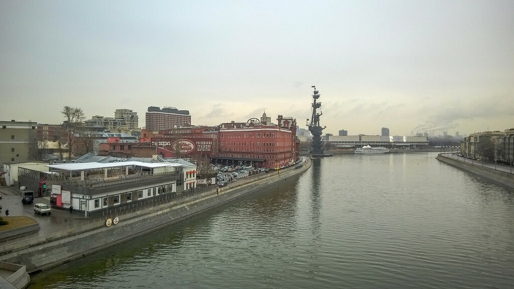 Берсеневская набережная Москва-реки
