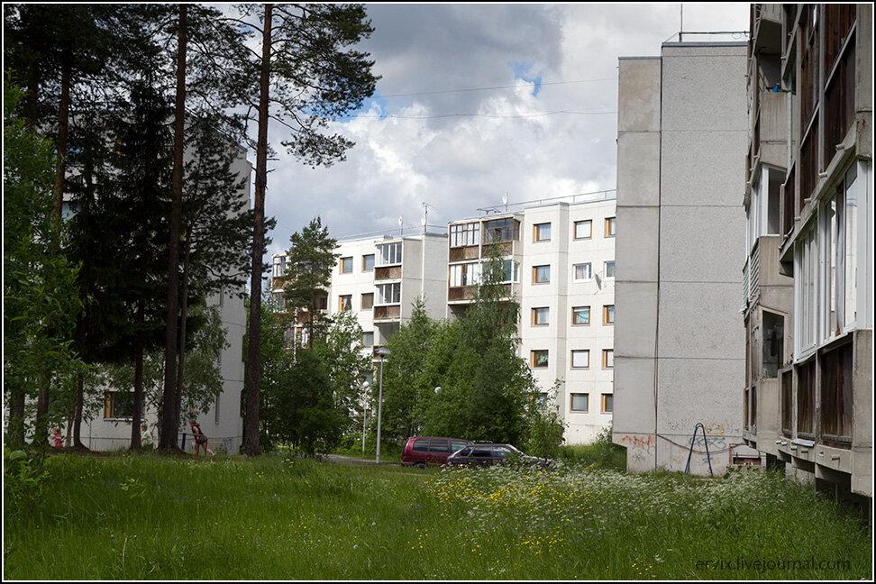 Двор в Костомукше