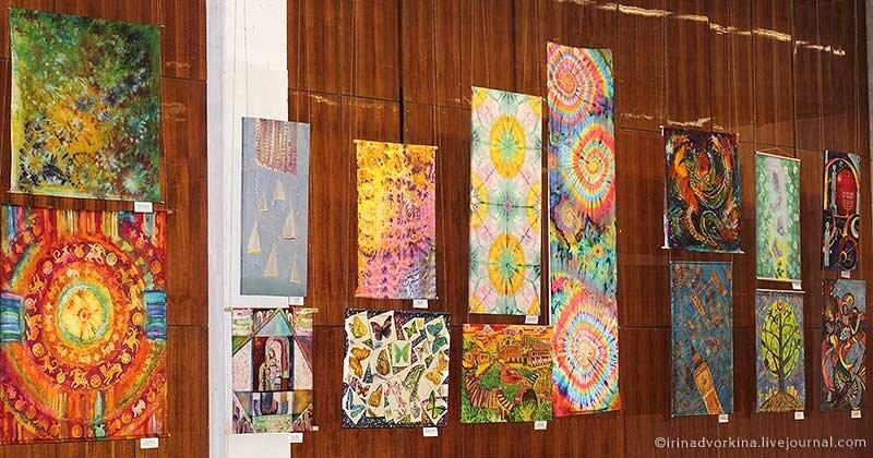 искусство батика