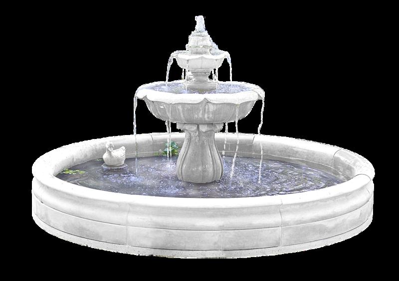клипарт фонтан: