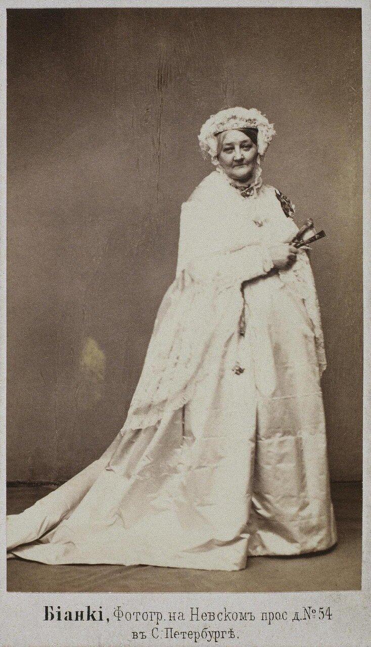 Портрет княгини Изабеллы Гагариной. 1867