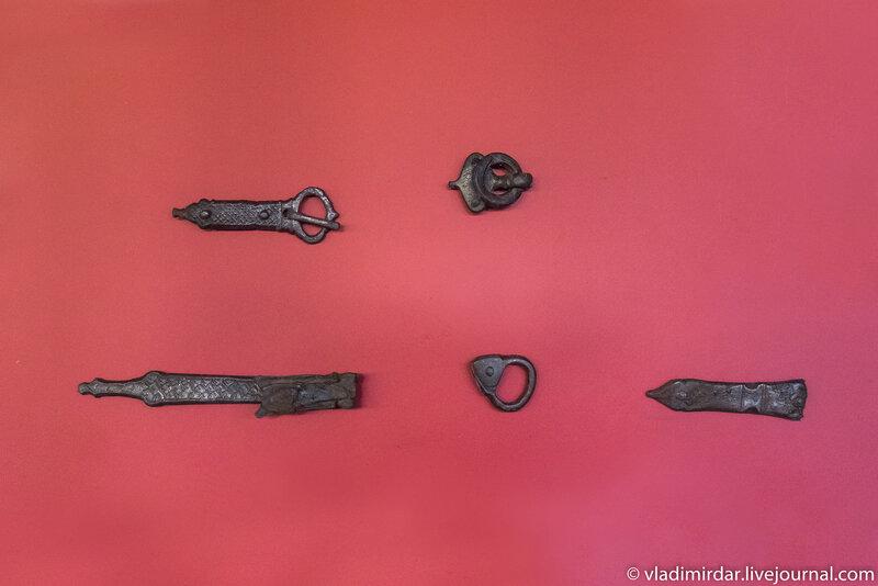 Археологические находки Кызыл-Курагино