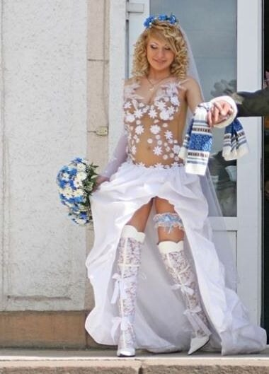 Платье свадебное вагина фото