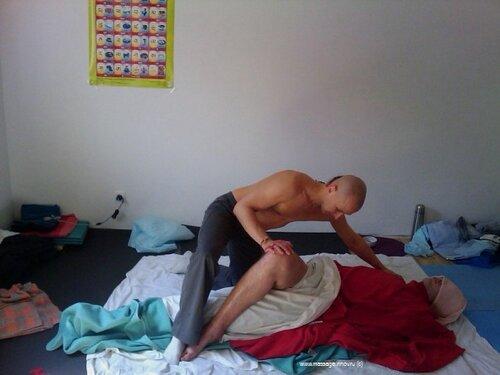 Тибетский массаж Ку Нье, элементы суставного массажа (тайский йога-массаж), Виктор Огуй