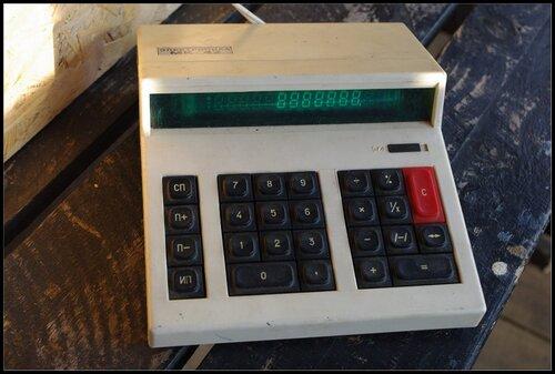 Калькулятор. Электроника МК 42.