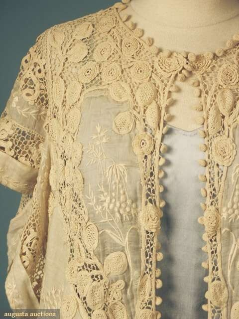 Irish Filigree Crochet Necklace Free Pattern : ?????????? ??????? ?????? ?? ???? ????????????