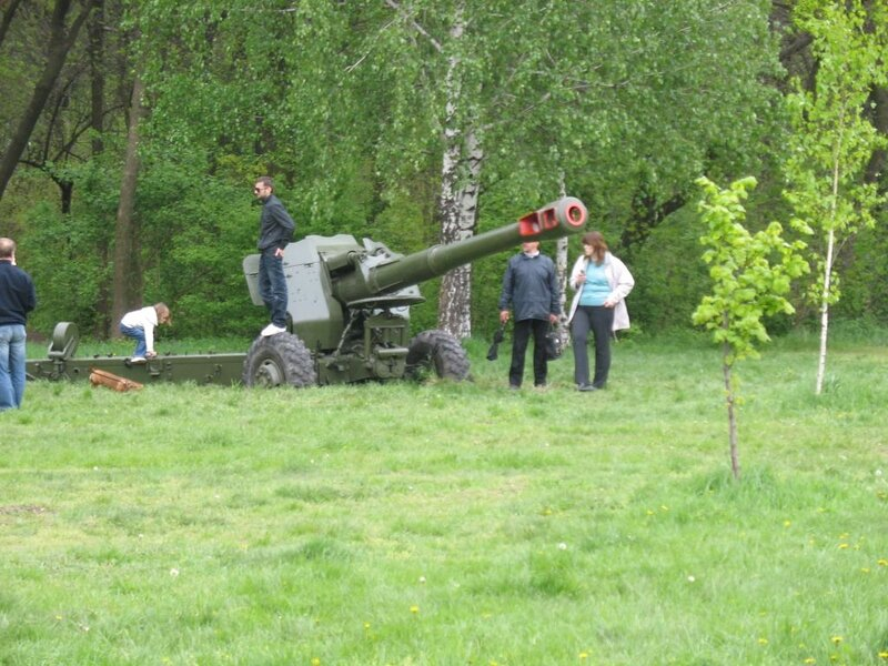 Парк Победы. Военная техника