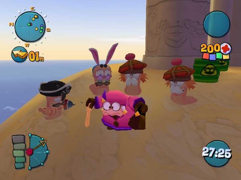 Скачать бесплатно игру Worms 4 Mayhem (2005/PC/RUS/Repack) по ссылкам