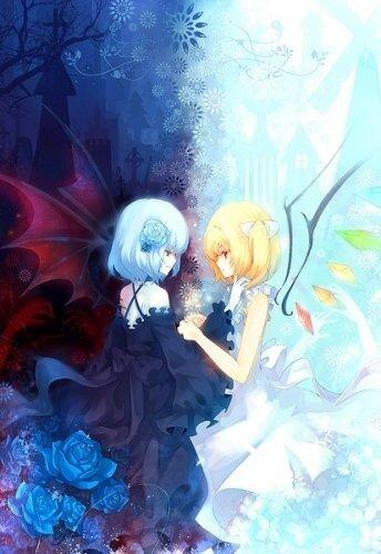 Картинки демонов и ангелов большие