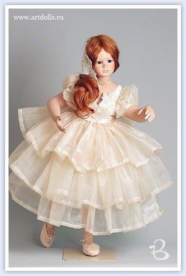 Куклы ручной работы разных авторов.