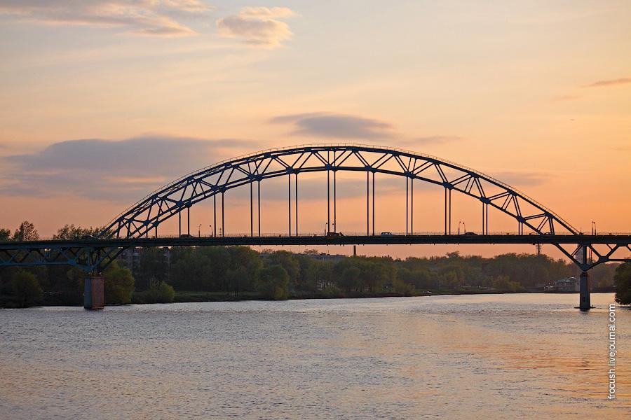Автомобильный мост ММК через Москву-реку в Бронницах