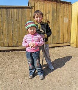 Жители Ольхона