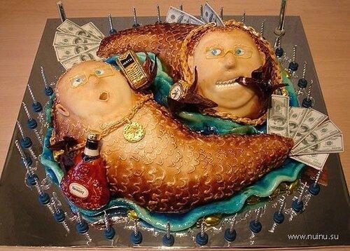 Олигархический торт