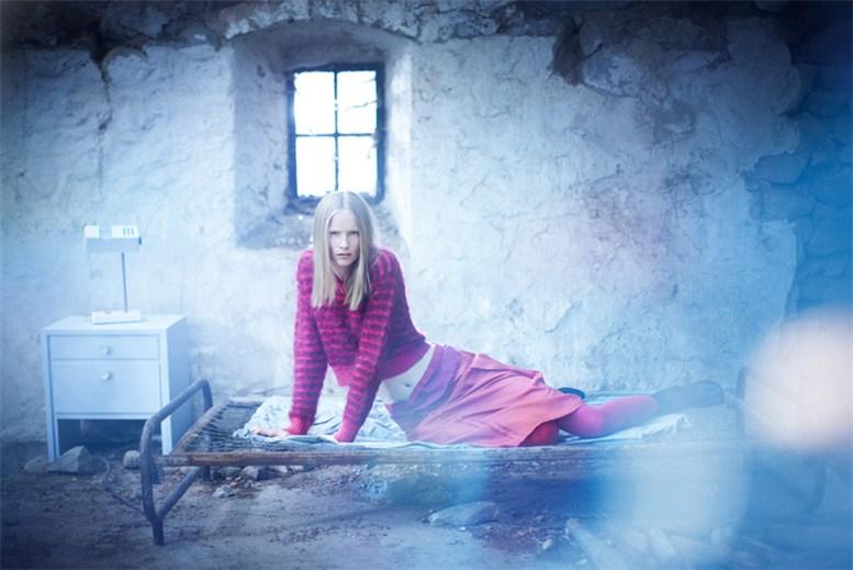 модель Катрин Торманн / Katrin Thormann, фотограф Karel Kuehne