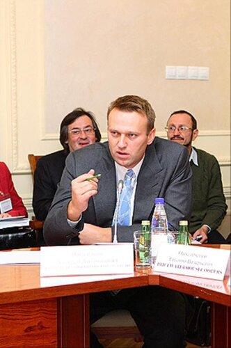 Выступление Алексея Навального в ИНСОР 22 сентября 2009