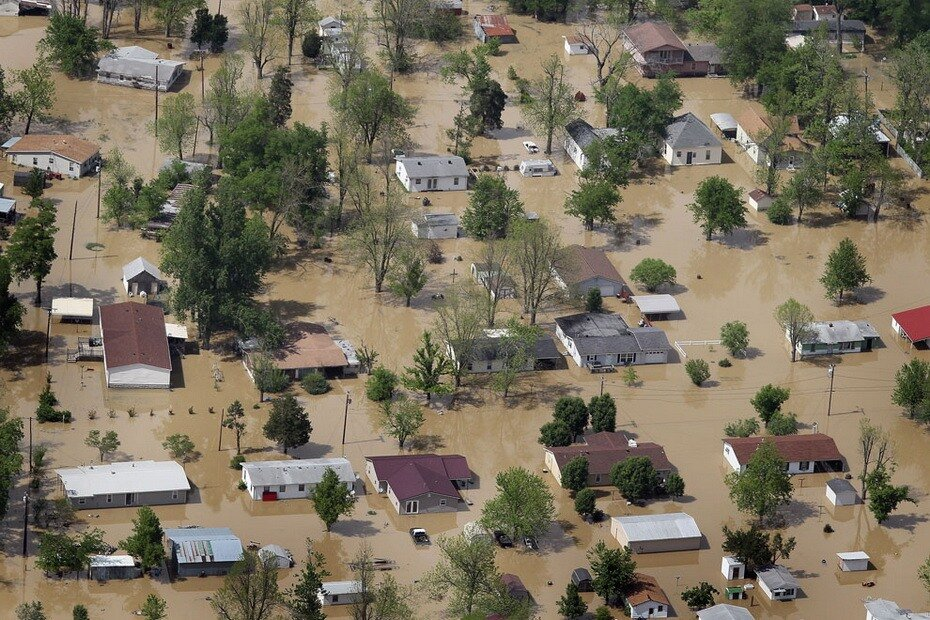 Наводнение америка фото