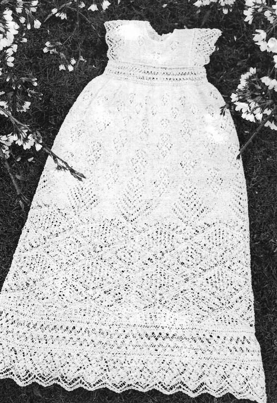 Крестильное платье / Lace