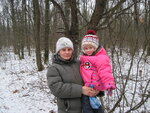 Любимая с дочкой Настенькой