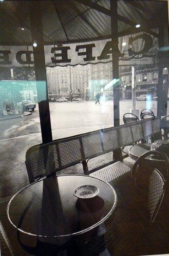 Кафе Флор рано утром,1976