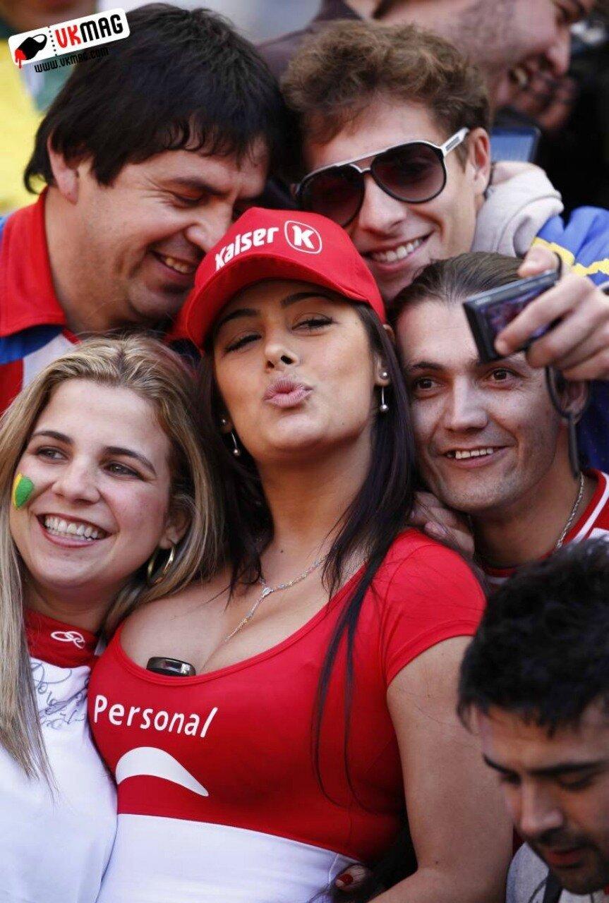 Девушки-болельщицы, Кубок Америки, Копа Америка. Фанатки, 2011