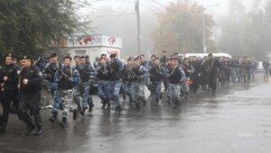 Молдавские бойцы спецподразделения Fulger прошли испытания
