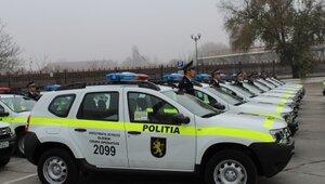 Полицейские в Молдове получат очередную партию новых авто