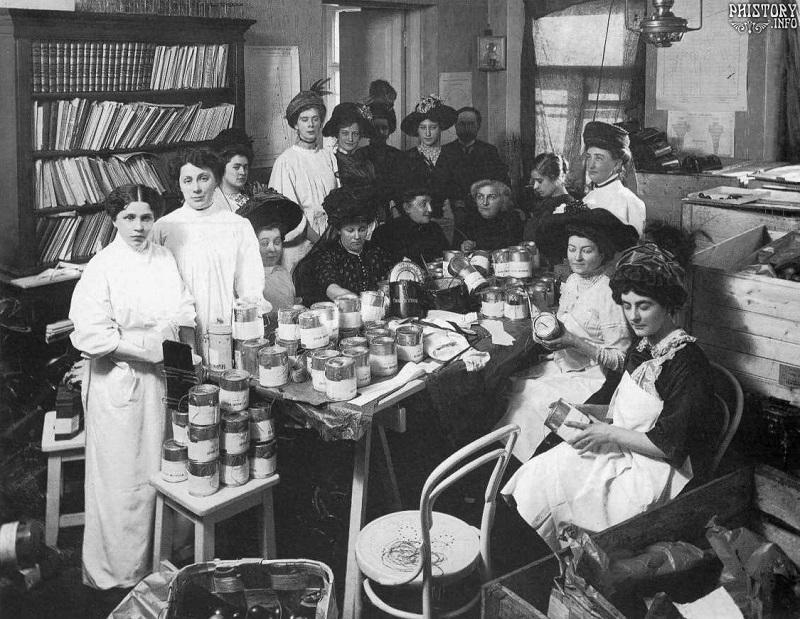 Сбор пожертвований в царской России