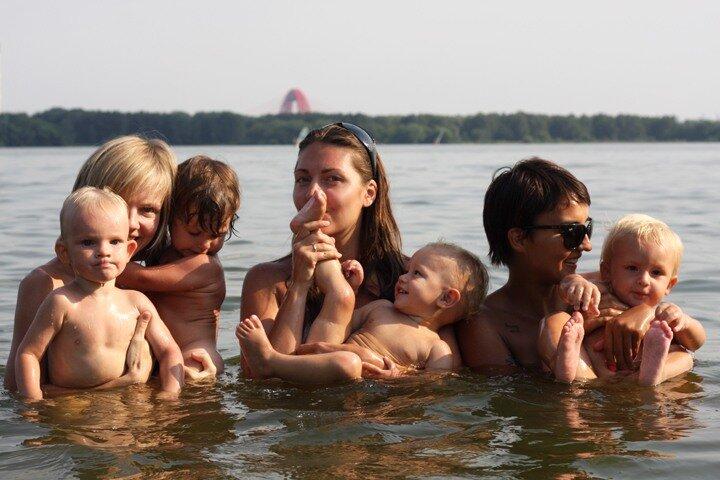 нудисты дети. фото