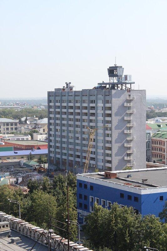 """Снос гостиницы """"Йошкар-Ола"""""""