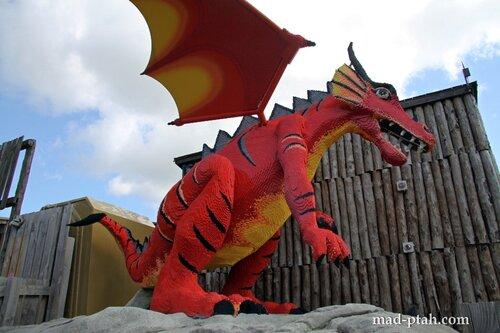 леголенд, виндзор, англия, драконы