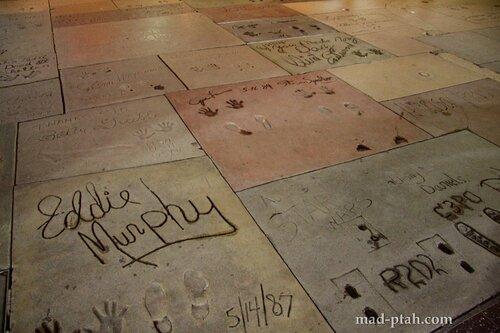 лос-анджелес, голливуд, аллея звезд, китайский театр