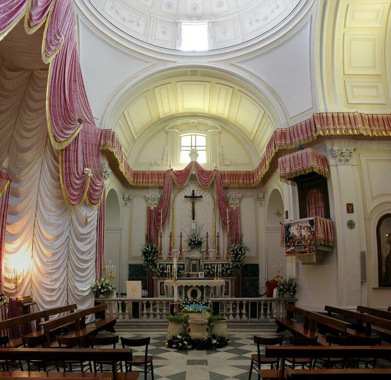 Искья, Форио. Церковь Сан-Себастьяно (Chiesa di San Sebastiano)