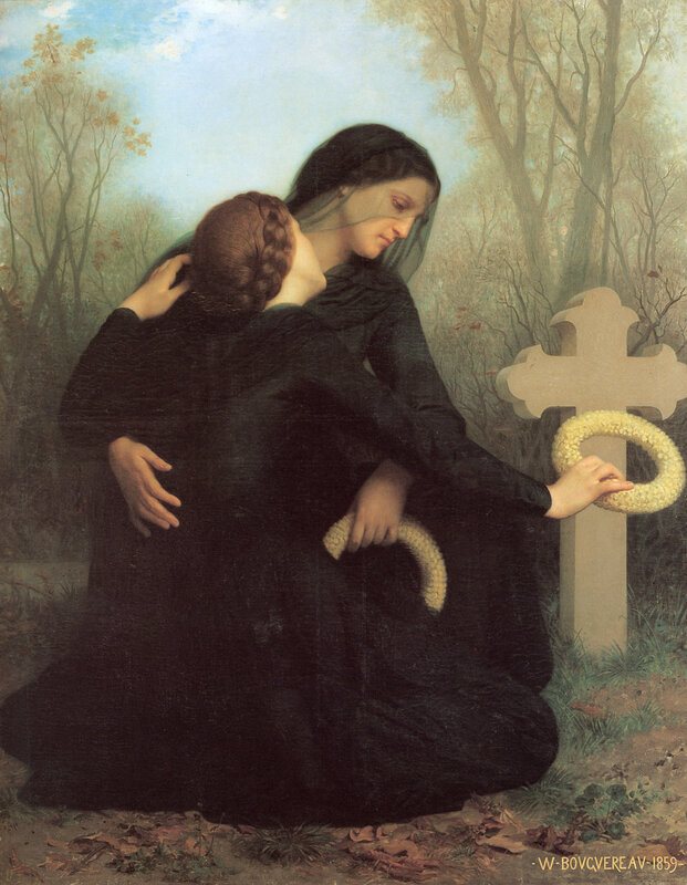 William-Adolphe Bouguereau (1825-1905) - The Day of the Dead (1859)