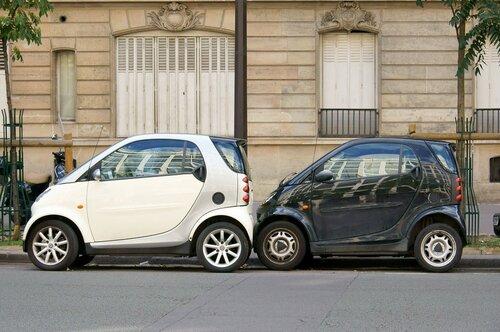 Парковка по-французски. Автомобили