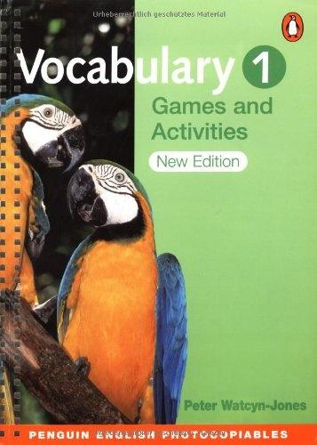 Книга Vocabulary Games and Activities 1, 2 — Peter Watcyn-Jones