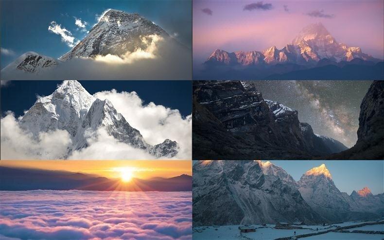 красивые горы фото