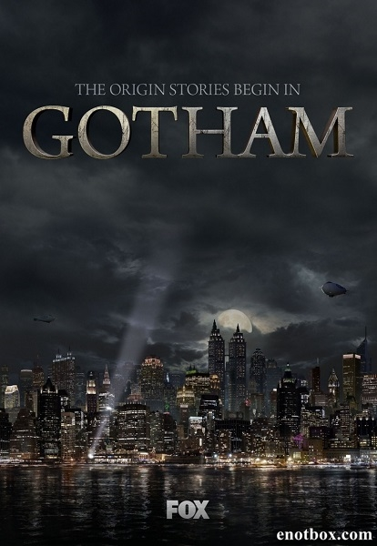Готэм / Gotham - Полный 1 сезон [2014, WEB-DLRip | WEB-DL 1080p] (LostFilm | NewStudio)