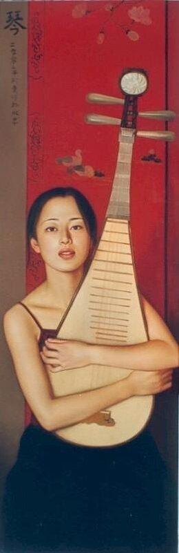 Li Guijun. Женский образ в современной живописи Китая