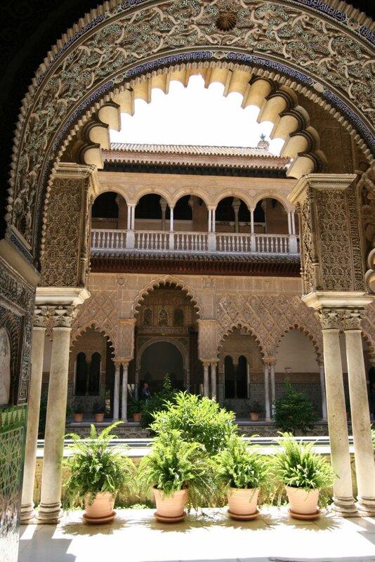 Дворцы Севильского Алькасара