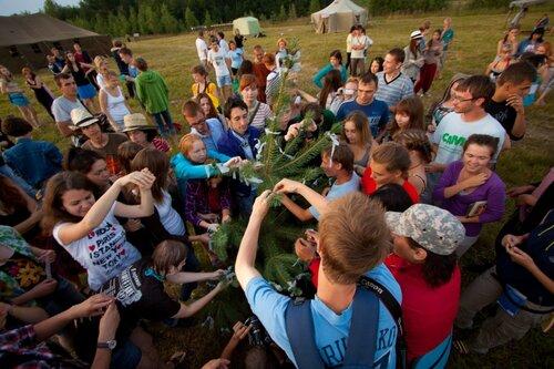 Открытие школы журнала «Русский Репортер» в д. Ручки