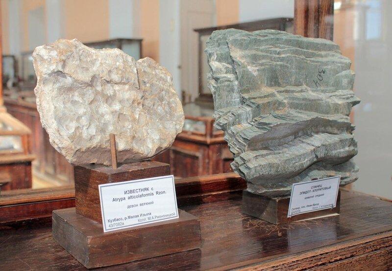 Известняк; сланец эпидот-хлоритовый