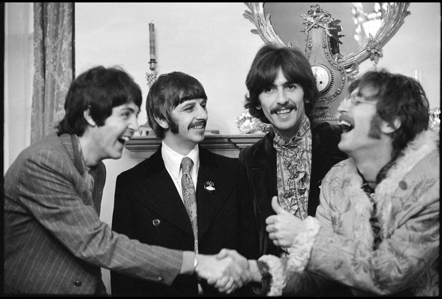 the Beatles ,London 1967