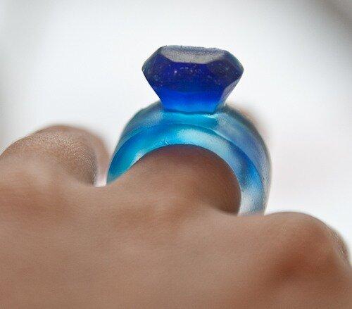 подарок на свадьбу, кольцо из мыла, идеи мыла, красивое мыло фото