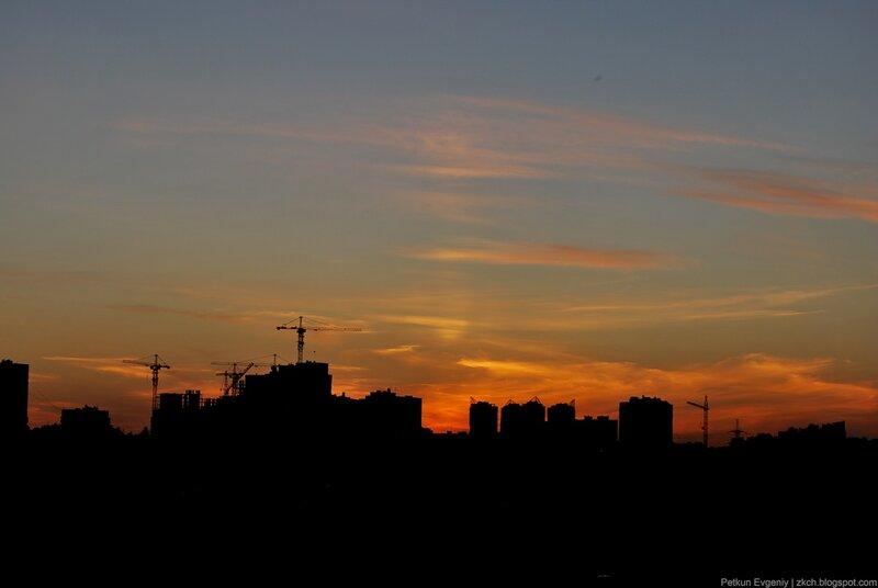 Автор: Петкун Евгений, блог Евгения Владимировича, фото, фотография: закат
