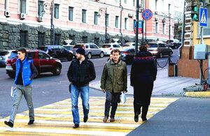 Говорящий светофор во Владивостоке