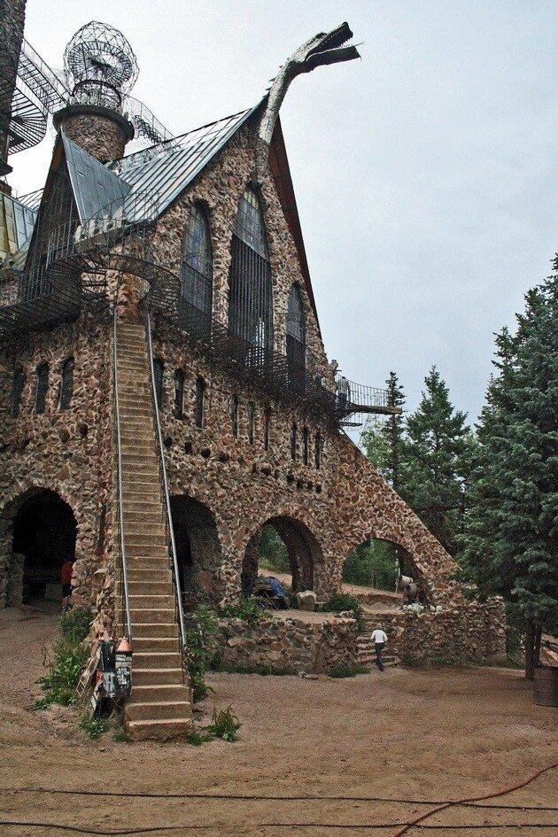 Замок Бишопа (Bishop Castle). Колорадо, США