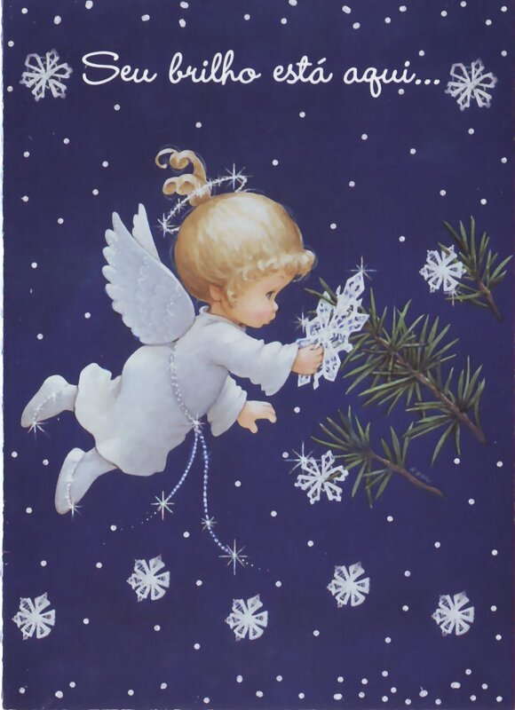 Открытки на рождество своими руками с ангелами
