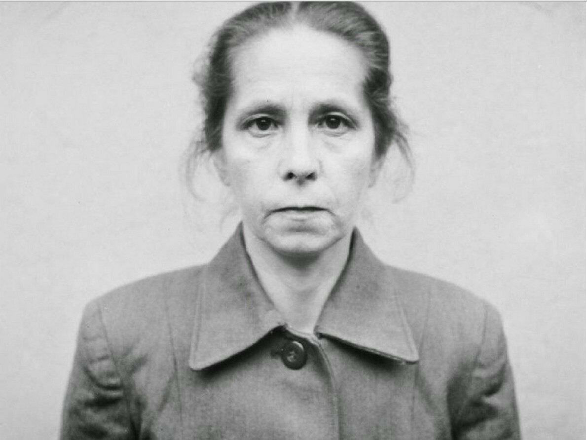 Юана Борман (Juana Bormann) (повешена 13 декабря 1945 года)