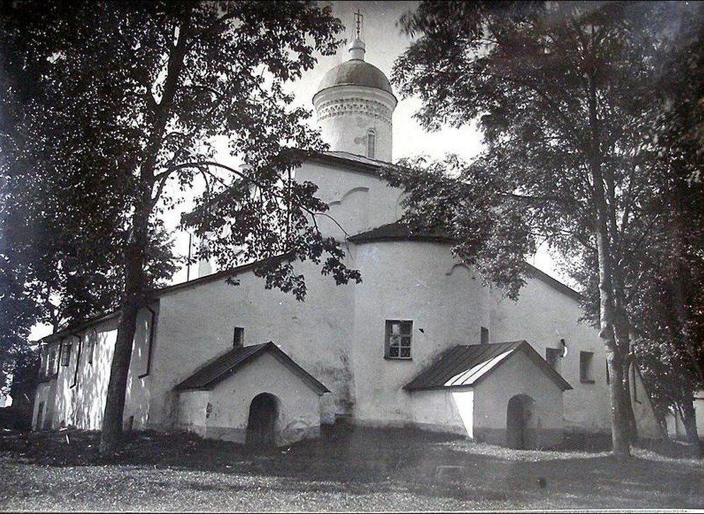 1926. Храм Илии Пророка с Мокрого Луга с юго-востока.