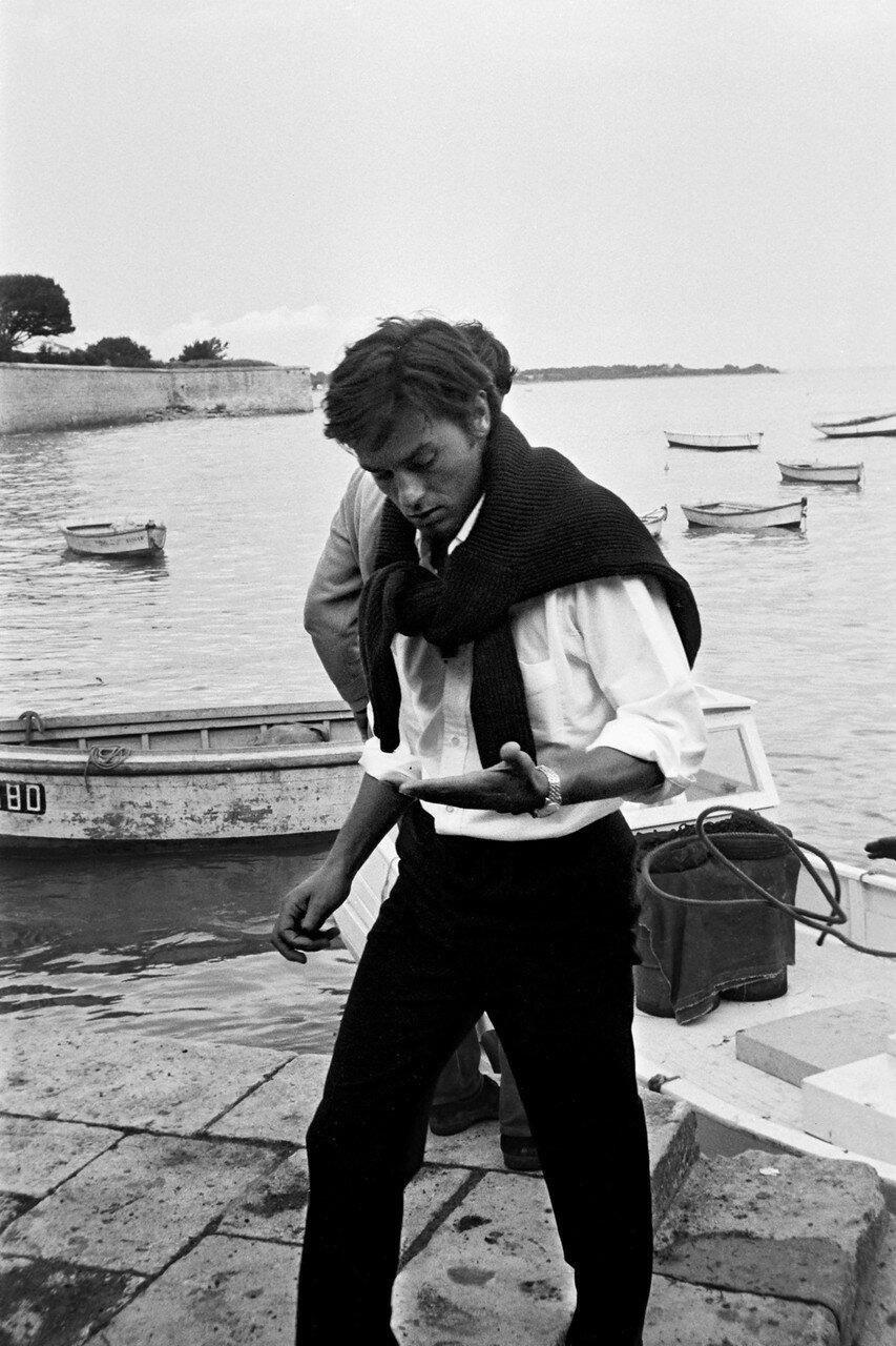 1967. На съемках фильма «Искатели приключений»